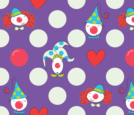 Love Fools fabric by majobv on Spoonflower - custom fabric