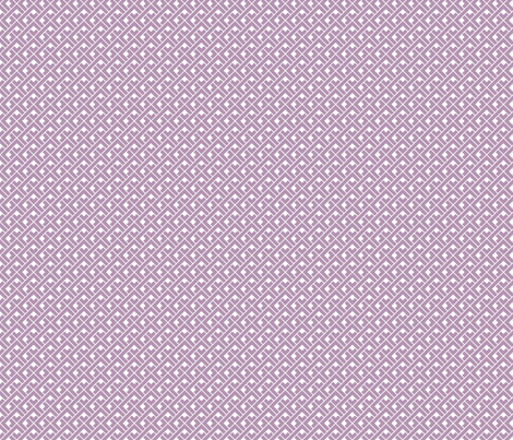 Basket Blocks (Lavender) fabric by happysewlucky on Spoonflower - custom fabric