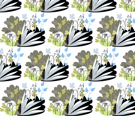 cluster fabric by antoniamanda on Spoonflower - custom fabric