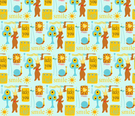 giggle hats fabric by la_belle_avenue on Spoonflower - custom fabric
