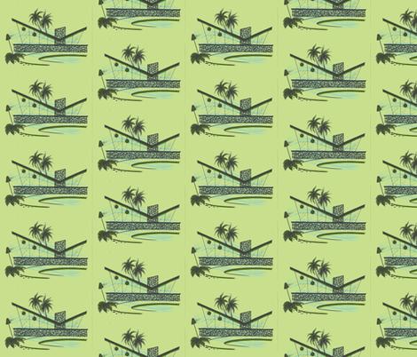 Easy Living, escape, grassland fabric by sophista-tiki_by_dawn_frasier on Spoonflower - custom fabric