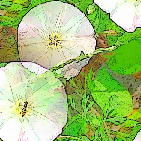 Joy in the Flower fabric by nalo_hopkinson on Spoonflower - custom fabric