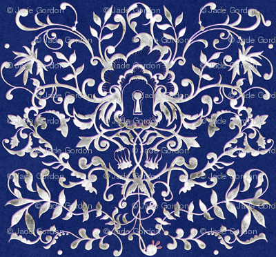 Rococo Blue