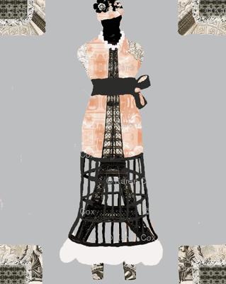 Dress Form Eiffel Tower