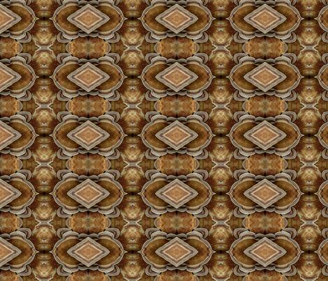 mushroom kilim fabric by saba_galleries on Spoonflower - custom fabric