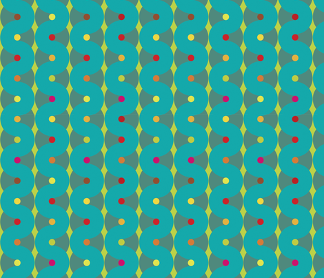 Sprinkles & Icing fabric by ellolovey on Spoonflower - custom fabric