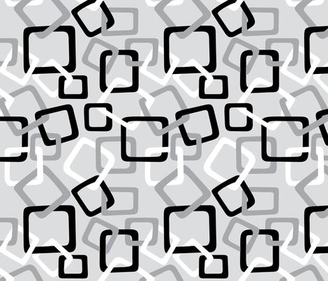 Links: Double Grey fabric by modgeek on Spoonflower - custom fabric