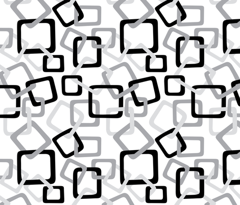 Links: Grey fabric by modgeek on Spoonflower - custom fabric