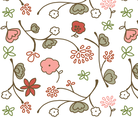 Sophisticated baby fabric by emilyb123 on Spoonflower - custom fabric