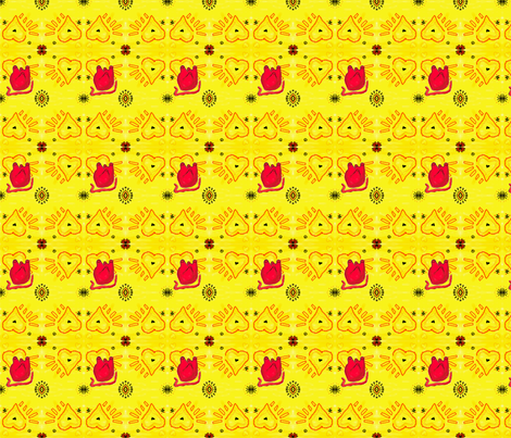 Heart 2 Heart fabric by kkitwana on Spoonflower - custom fabric