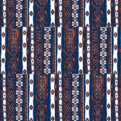 Mali Blanket 3 fabric by susaninparis on Spoonflower - custom fabric