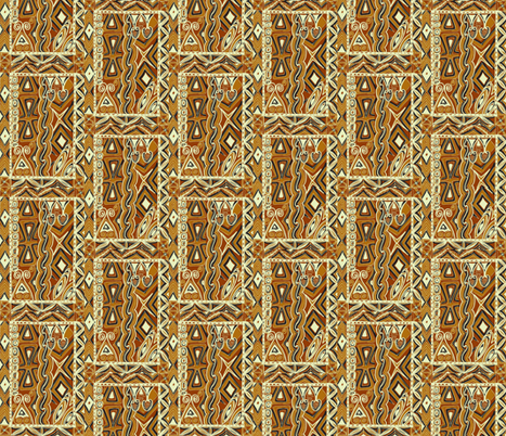 Flash back, tapa trippin, traditional fabric by sophista-tiki_by_dawn_frasier on Spoonflower - custom fabric