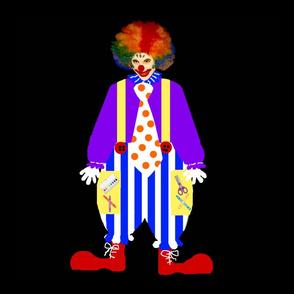 """Crayon the Clown 18"""""""
