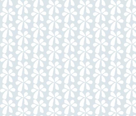 Blue Flowers fabric by renewfabrics on Spoonflower - custom fabric