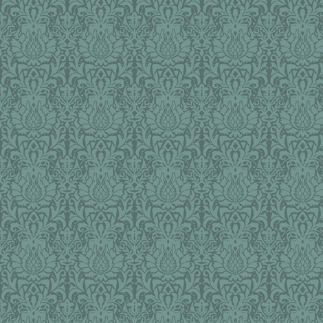 juniper aya damask small fabric by scrummy on Spoonflower - custom fabric