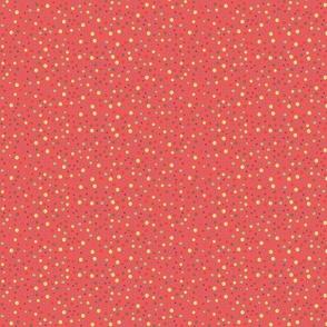 Joy Dots - redish