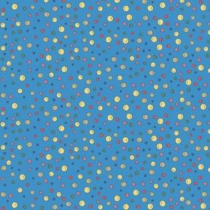 Joy Dots - blue