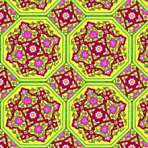 Persian Tile ~ Summer