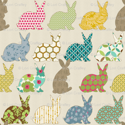 year of the COLORFUL rabbit