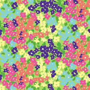 Happy Floral - Sassy Colorway