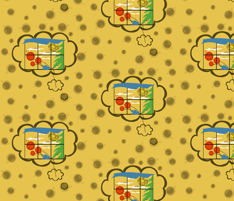 Breakfast Wishes and Coffee Dreams fabric by tracydb70 on Spoonflower - custom fabric