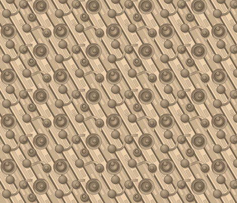 ©2011 toffee2 fabric by glimmericks on Spoonflower - custom fabric