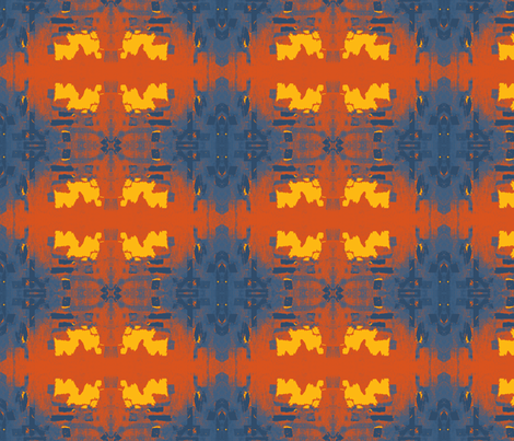 Solar Flare Up fabric by susaninparis on Spoonflower - custom fabric