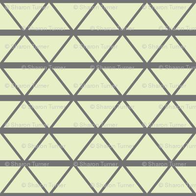London wire cream slate