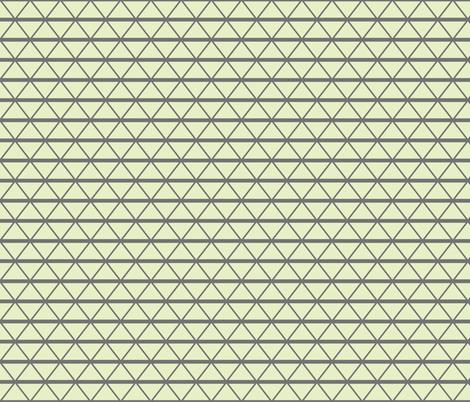 London wire cream slate fabric by scrummy on Spoonflower - custom fabric