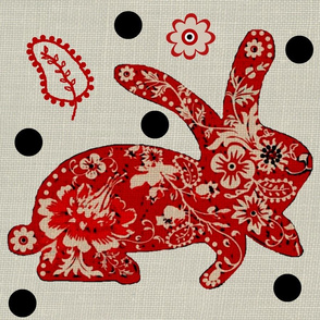 Year of the rabbit / dots