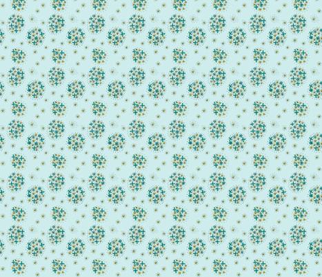 aquacontestfloral-ed fabric by kimspoonflower on Spoonflower - custom fabric