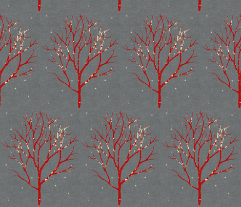 tree_linen fabric by holli_zollinger on Spoonflower - custom fabric