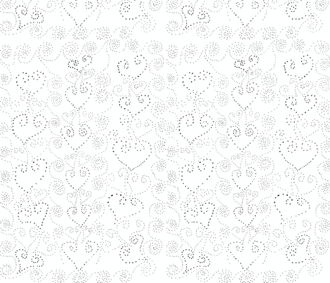 hearts_and_spirals-ed fabric by karenchard on Spoonflower - custom fabric