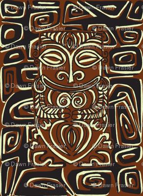 Tahitian Canibal, traditional