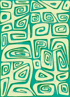 Abstractiva tahitian, tidepool