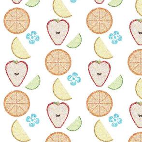 Stamped Fruit