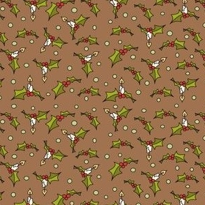 Little xmas in brown