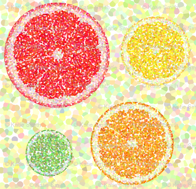 Citrus Pointillism