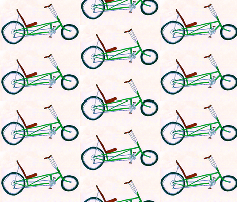 Velveteen Bike fabric by gart on Spoonflower - custom fabric