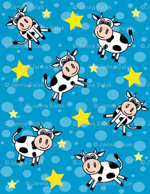 Happy Cows Blue