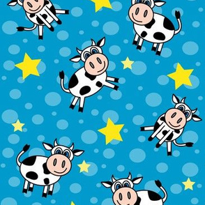 Happy Cows Blue