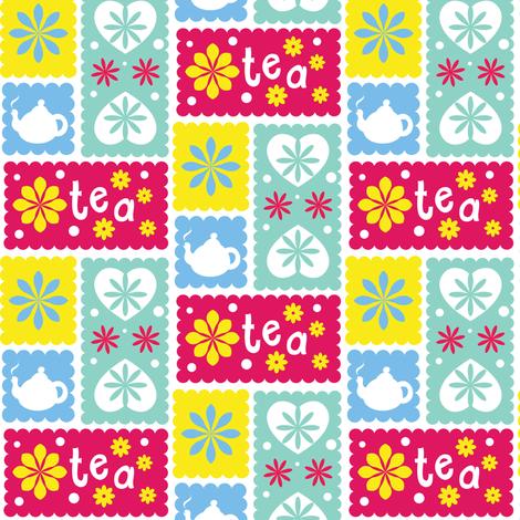 Tea & Biscuits fabric by irrimiri on Spoonflower - custom fabric