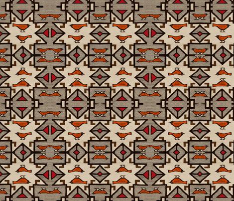 peruvian_birds fabric by ravynka on Spoonflower - custom fabric