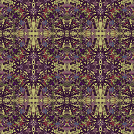 Purple Posh fabric by captiveinflorida on Spoonflower - custom fabric