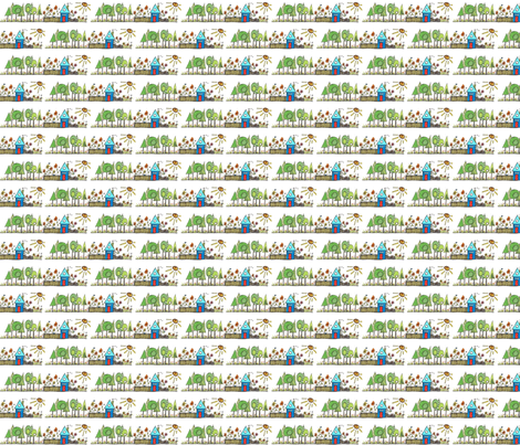 House_&_Garden fabric by orangesweater on Spoonflower - custom fabric