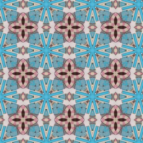 Prague - Jerusalemer Synagoge tile fabric by ravynka on Spoonflower - custom fabric