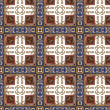 Medieval plaid fabric by ravynka on Spoonflower - custom fabric