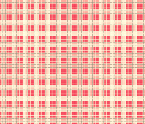 Pink Plaid fabric by nanetteregan on Spoonflower - custom fabric