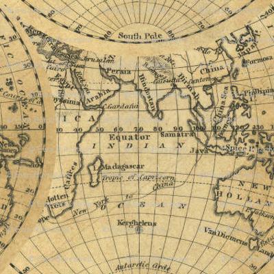 hemisphere world -1830