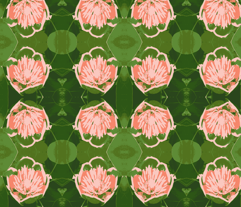 Tulip Poplar in my old back yard fabric by susaninparis on Spoonflower - custom fabric